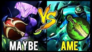 MAYBE (Somnus.M) Faceless Void vs Ame Morphling - LGD Carry Civil War