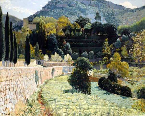 Сантьяго Русиньоль-и-Пратс (25 февраля 1861, Барселона 13 июня 1931, Аранхуэс испанский художник, писатель, поэт и драматург, один из лидеров каталонского модернистского движения.Талант Сантьяго