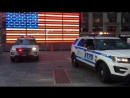 NYPD CRITICAL RESPONSE COMMAND, WITH ITS BRAND NEW 2016 POLICE INTERCEPTORS, CHANGING SHIFTS.