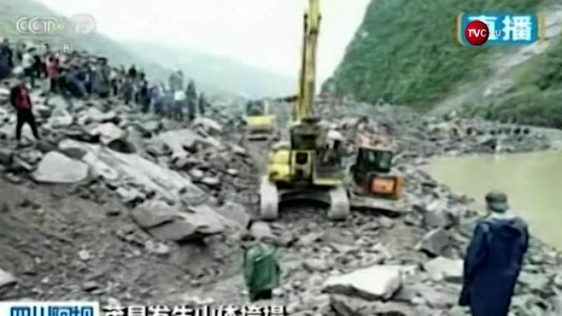 Более 140 человек пропали без вести после оползня в Китае