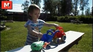 Экскаватор / Excavator / Видео для детей / Videos for children