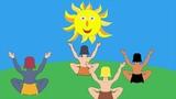 Conte pour enfants La lune le Soleil et les Hommes