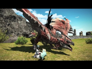 Final Fantasy XIV x Monster Hunter World - Collaboration Trailer ¦ PS4