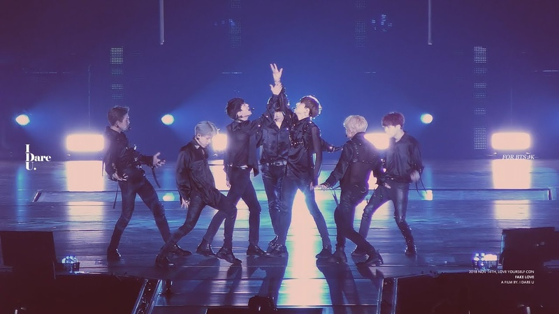 181114 LOVE YOURSELF CONCERT in TOKYO DOME - FAKE LOVE japanese ver. 정국 JUNGKOOK Focus.