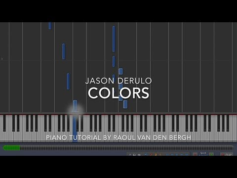 Jason Derulo - Colors (Coca-Cola® Anthem for the 2018 FIFA World CupTM) (Piano Tutorial Sheets)