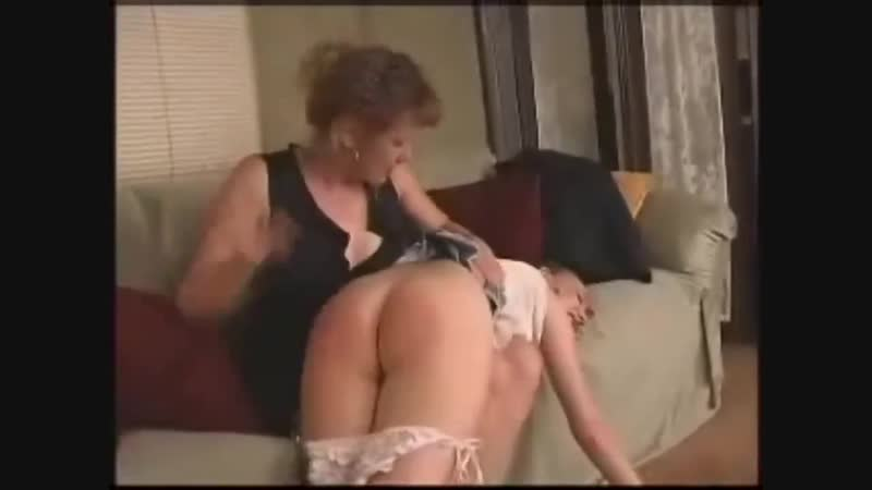 Daughter gets Her Bare Butt Spanked,