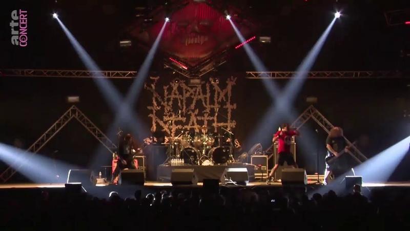 Napalm Death au Hellfest 2018