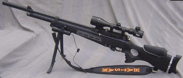 Насос для накачки винтовки