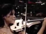 Vanessa Mae plays Classical Gas Raggae