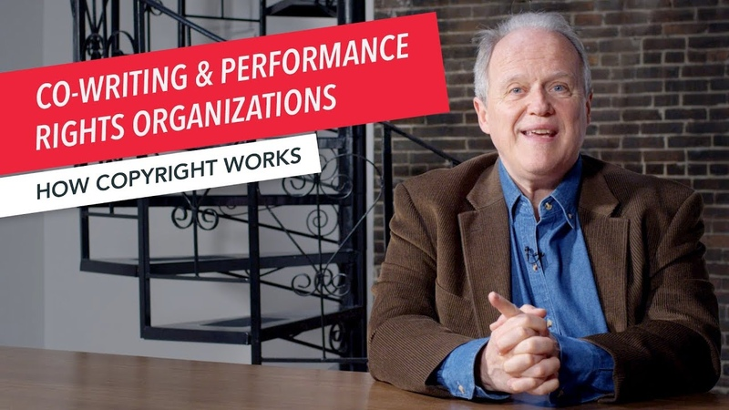 How Copyright Works: Co-Writing Performance Rights Organizations (PROs)   ASCAP BMI SESAC