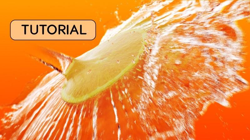 Phoenix FD Water Splash Beginner Tutorial