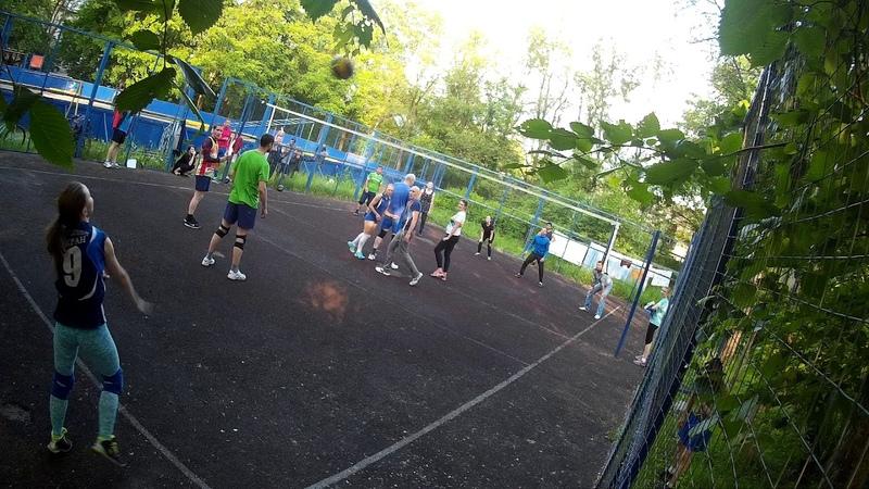 Сертолово Парголово1 Турнир по волейболу среди дворовых команд п Парголово 15 06 2018
