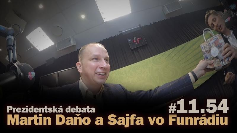 Prezidentská debata: Martin Daňo a Sajfa vo Funrádiu (short) 11.54