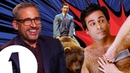 It was TERRIFYING! Steve Carell on riding a bear in Anchorman and THAT chest-waxing scene.