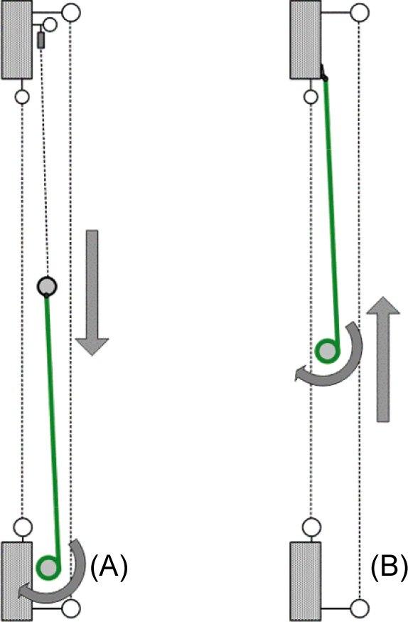 Подъемный механизм штор
