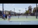 Как делают ОФП теннисиста в Санта Барбаре Калифорния