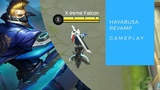 Hayabusa Revamped Full Gameplay MOBILE LEGENDS BANG BANG