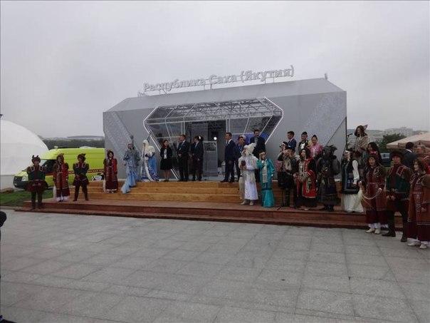 Павильон Якутии вызвал большой интерес у гостей ВЭФ