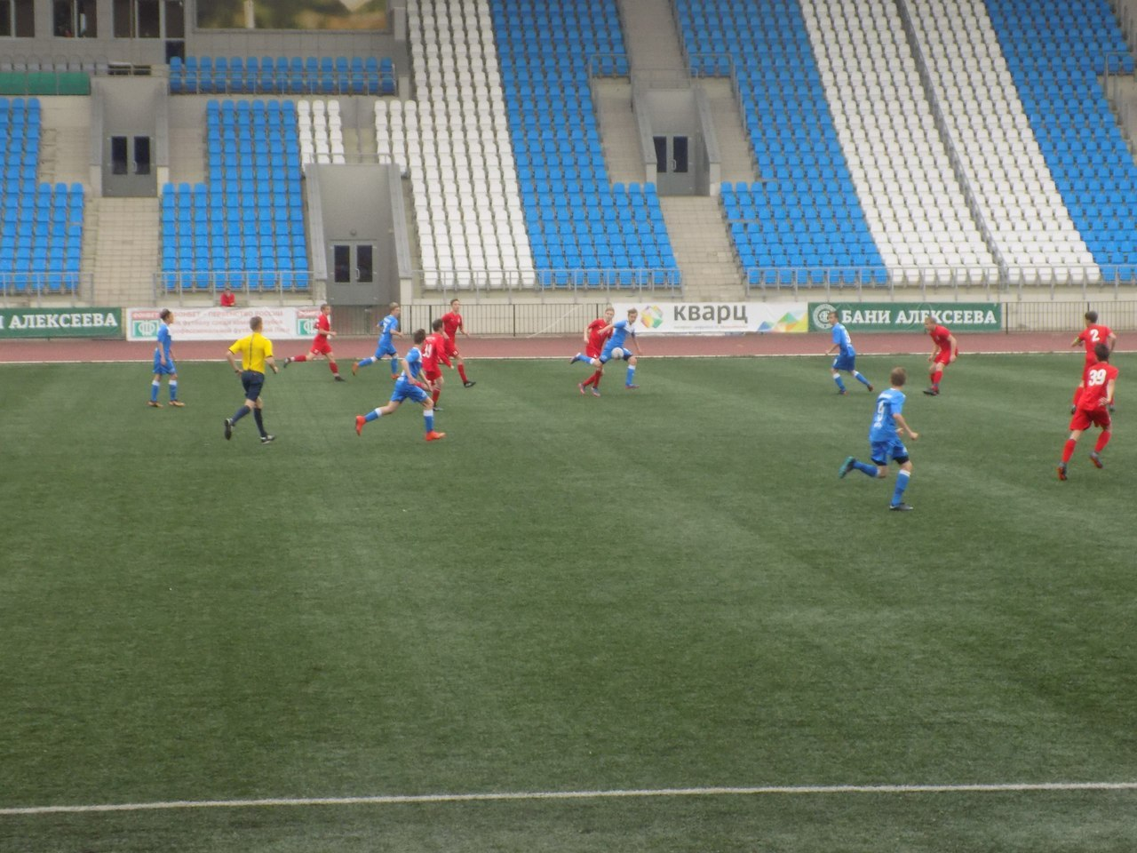 Команды СШ «Витязь» 2002 и 2004 г.р. в 8 туре Первенства России одержали одну победу