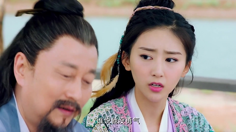 Китайская одиссея Буду любить тебя миллион лет - 5 серия (озвучка)