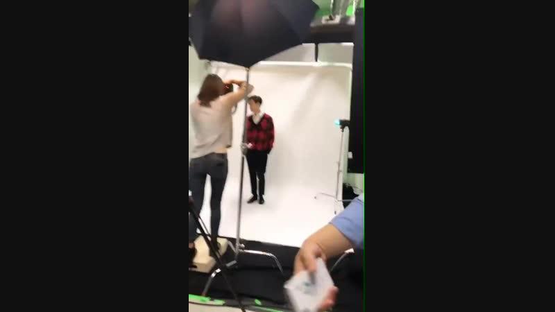 181106 EXO's Lay @ ellielee.tv Instagram Story Update