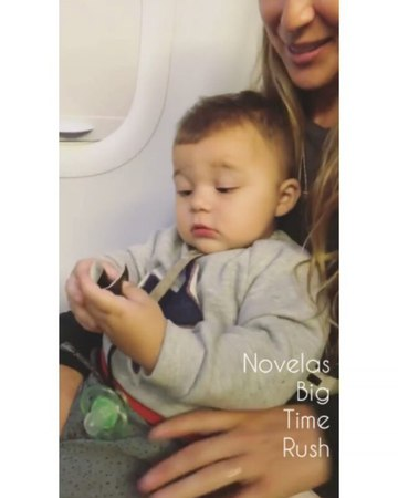 "Novelas Big Time Rush on Instagram: ""@therealcarlospena via IG Stories 💙 carlospenavega alexapenavega oceanpenavega @esthermaslow"""