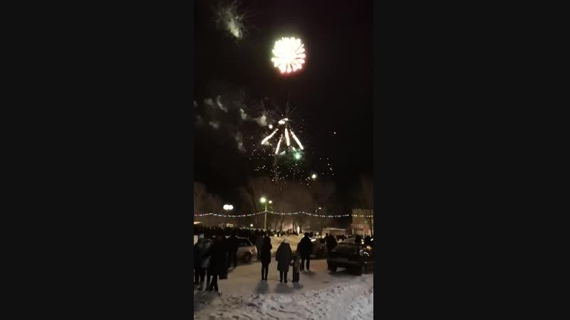 Новогодний салют Рузаевка!