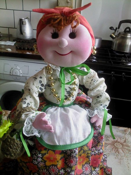 Кукла теща своими руками 11
