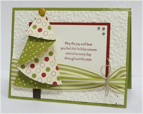 Идеи новогодних открыток скрап