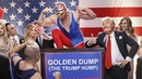 Donald Trump ft. Melania Trump - Golden Dump The Trump Hump/TheMockingbirdMan by Klemen Slakonja/