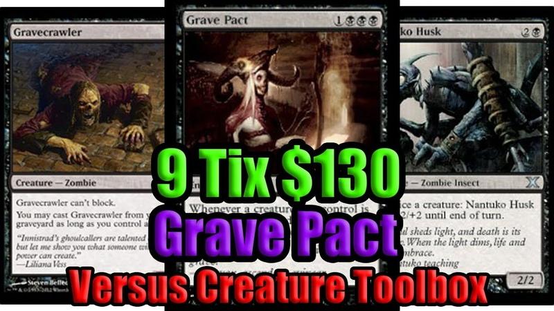 Budget Grave Pact vs Creature Toolbox - MTG