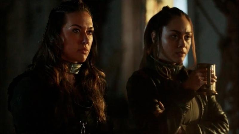 The 100 Raven and Echo reunion Season 5 Episode 7