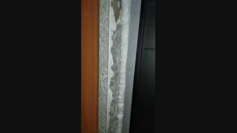Наши работы Установка входной двери