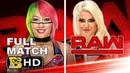 WWE RAW 1/1/2018 ALEXA BLISS VS ASUKA - WWE RAW 1 JANUARY 2018 HIGHLIGHTS HD