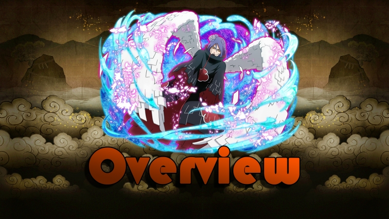 【Naruto Blazing】★6 Konan (Blazing Awakened) - Overview