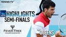 Highlights Djokovic Reaches 1st Final In Nearly A Year At Queen's Club To Meet Cilic