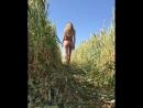 В единении с природой или голая в поле