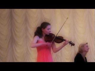 Анастасия Онопа, Диплом (J) II Международного Конкурса скрипачей и квартетов им. Л. Ауэра