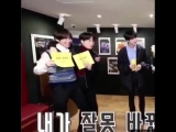 THE WAY TAEHYUNG HAD TO BEND DOWN FOR YOONGI SO HE CAN PUT HIS ARMS AROUND HIS SHOULDER BC YOONGI IS SO TINY AND PLEASE LOOK AT