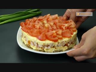 Любимый салат моего мужа! После того как вы его попробуете, вы поймете почему…