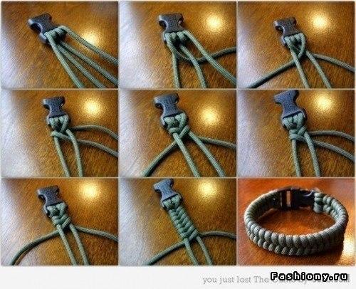 Мужской браслет легко, просто