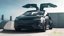 Tesla Model X P100D Limited Edition T Largo, an Exclusive Production Model X Wide Body Package