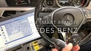 Program smart remote Mercedes Benz C200 W204 with Vvdi MB Tool by Pollert