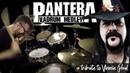 Pantera Vadrum Medley Vinnie Paul Drum Tribute