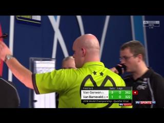 Michael van Gerwen vs Raymond van Barneveld (PDC World Darts Championship 2018 / Quarter Final)