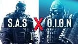 S.A.S VS G.I.G.N BRITISH VS FRANCE SPECIAL FORCES 2018