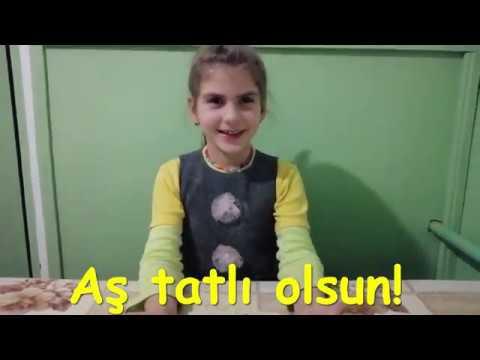Milliy aşlar-yantıq. Eftade Ayvaz qızı Osmanova, 6 yaşında