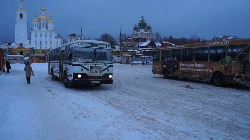 ЛиАЗ-677М М 345 АВ 152 город Арзамас (2016 год)