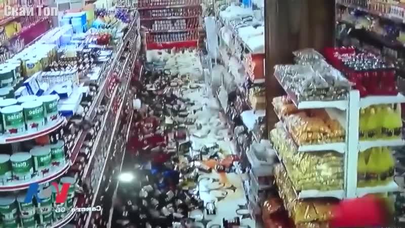 ЗЕМЛЕТРЯСЕНИЕ ГЛАЗАМИ ОЧЕВИДЦЕВ Землетрясение как оно есть впечатляющие кадры