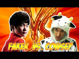 Faker vs. Cowsep (with MaRin) - Howling Abyss